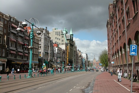 City of Amsterdam, the Netherlands' capital