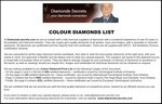 Colour Diamonds List PDF