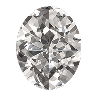 0.72 carat oval cut diamond